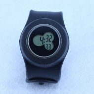 Silicone Sports black Watches