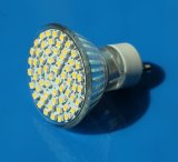 GU10 3W Warm/Cool White 60 Leds SMD LED Light