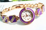 New Design Fashion Style Rhinestone Bracelet Wrist Watch