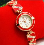 Excellent Decorative Rhinestone Bracelet Wrist Watch