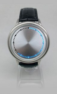 Touch Screen LED Watches with Blue LEDs