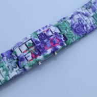 Samurai - Japanese Style Inspired LED Watch multicolored