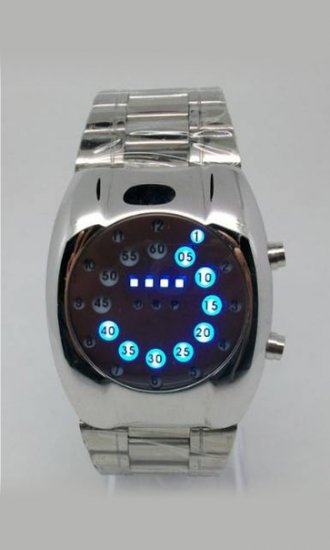 Newest Blue LED Watches - Click Image to Close