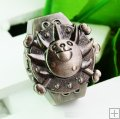 Antique Brown Sun Dog FingerRing Watch FW001