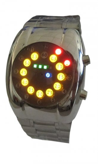 Wholesale - Fashion Multi-colored LED Watches - Click Image to Close
