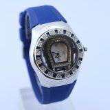 wholesale unisex quartz japan blue watches new arrive