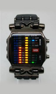2011 Hot Sell Multi-colored LED Watches