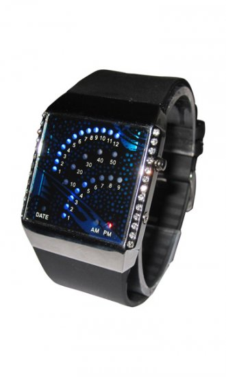 Shining LED Wrist Watches for Women - Click Image to Close