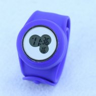 wholesale Slap Silicone Watch ocean blue