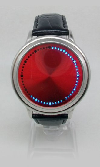 2011 Fashionable Touch Screen LED Watches - Click Image to Close