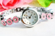 Gorgeous Pink Women Bracelet Wrist Watch