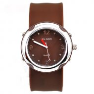 fashionable Quartz Slap Watch brown slap watch