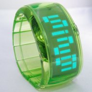 ODM LED Watches /Green LW010-5