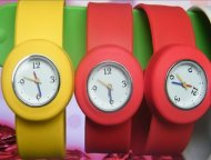 Mini Beautiful Children Slap Silicone Watch