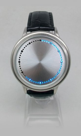 Touch Screen LED Watches with Blue LEDs - Click Image to Close