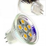 1.2W M11 Cool/Warm White 6 Leds SMD LED Light