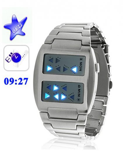 Japanese Inspired Binary LED Watches - Click Image to Close