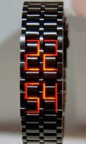 Japanese Inspired Red LED Watches