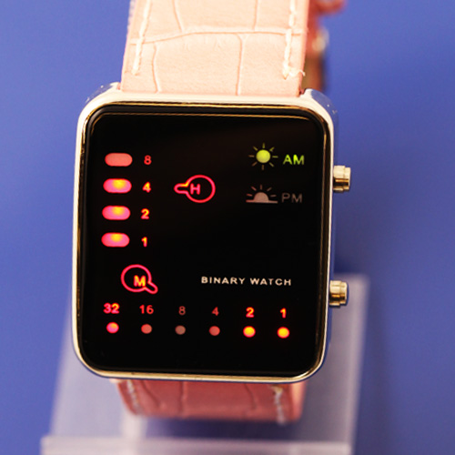 SEO_COMMON_KEYWORDS Multicolor Binary LED Watches japanes style pink