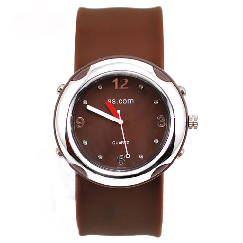 SEO_COMMON_KEYWORDS fashionable Quartz Slap Watch brown slap watch
