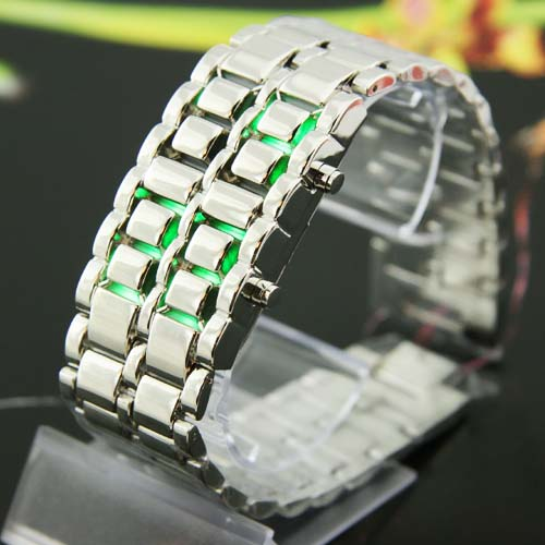 SEO_COMMON_KEYWORDS Green Japanese inspired Watches Iron Samurai