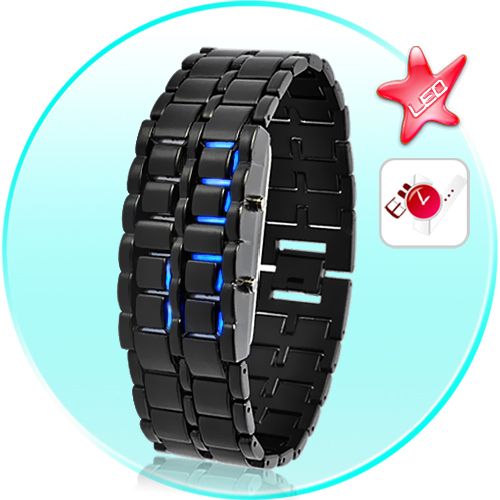 SEO_COMMON_KEYWORDS Dark Samurai - Japanese Style Inspired LED Watch