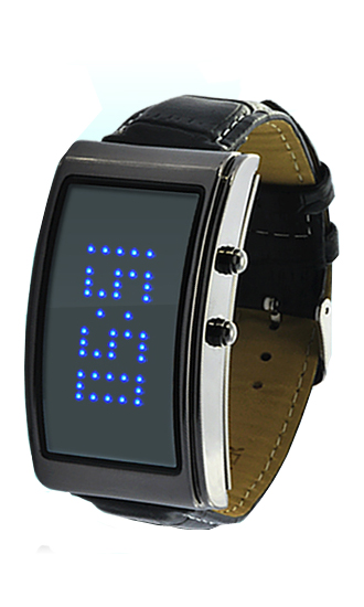 SEO_COMMON_KEYWORDS Rectangle Fashion LED watch for women blue light