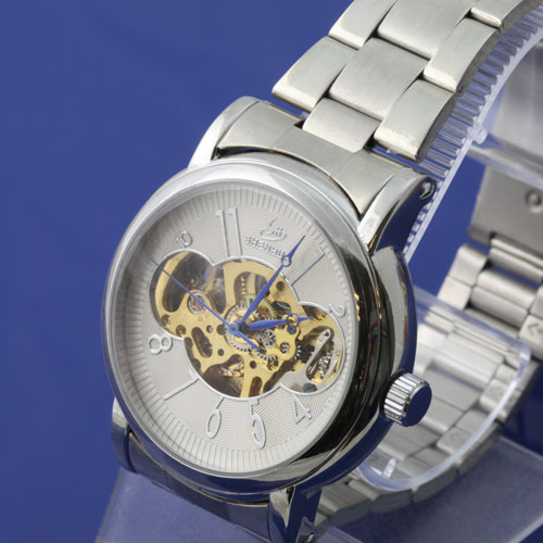SEO_COMMON_KEYWORDS Silver Lovely Stainless Steel Automatic Watch