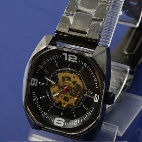 SEO_COMMON_KEYWORDS Fashionable Design Men's Stainless Steel Automatic Watch