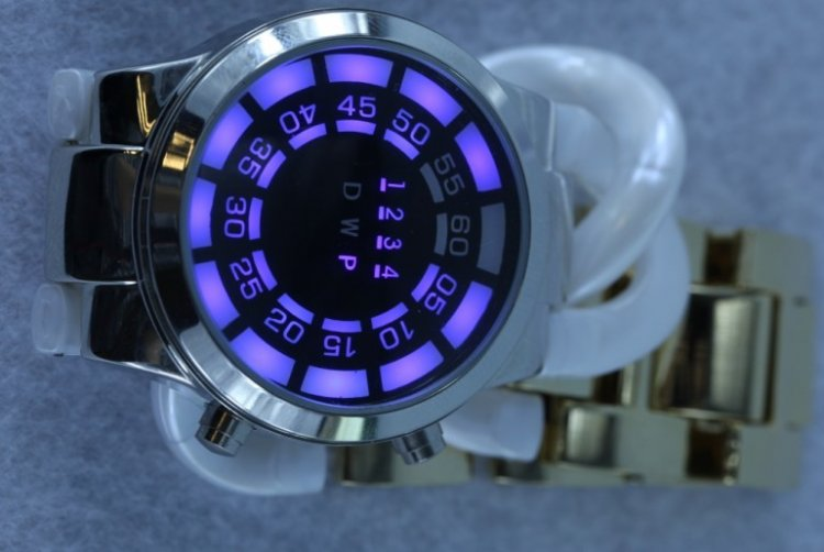 SEO_COMMON_KEYWORDS New fashion blue LED watchs