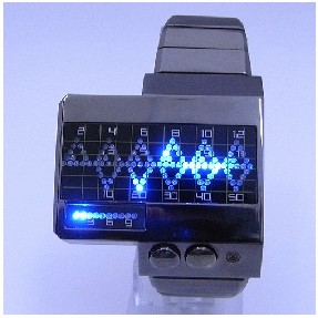 HEARTBEAT - Fashionable Japanese LED Watches LW004BR