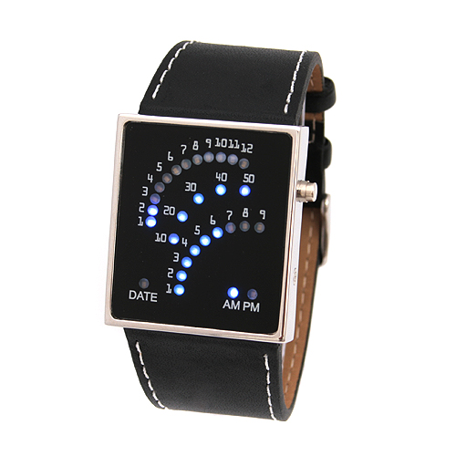 SEO_COMMON_KEYWORDS LED Watches with 29 Blue LEDs